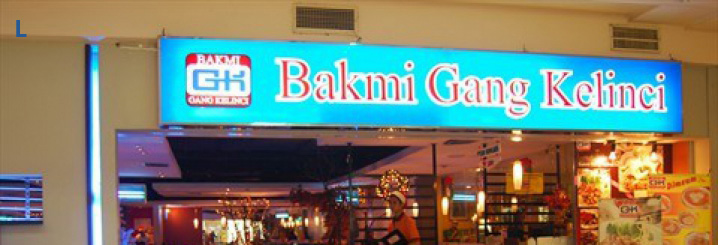 Important Information: Outlets of Bakmi Gang Kelinci